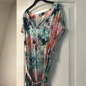 Liz Claiborne watercolor dress